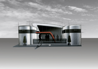 Innovative design for race awnings and motorsports awnings