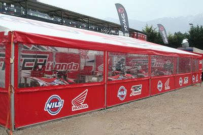 race awnings / motor sport awnings for all racing series
